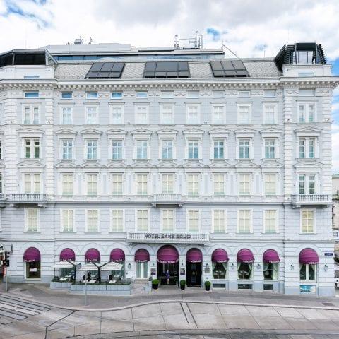 Boutique Hotel Wien Fassade Sans Souci Wien Hotel