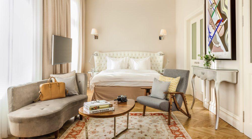 5 Sterne Hotel Wien Hotel Sans Souci Vienna - Junior Suite