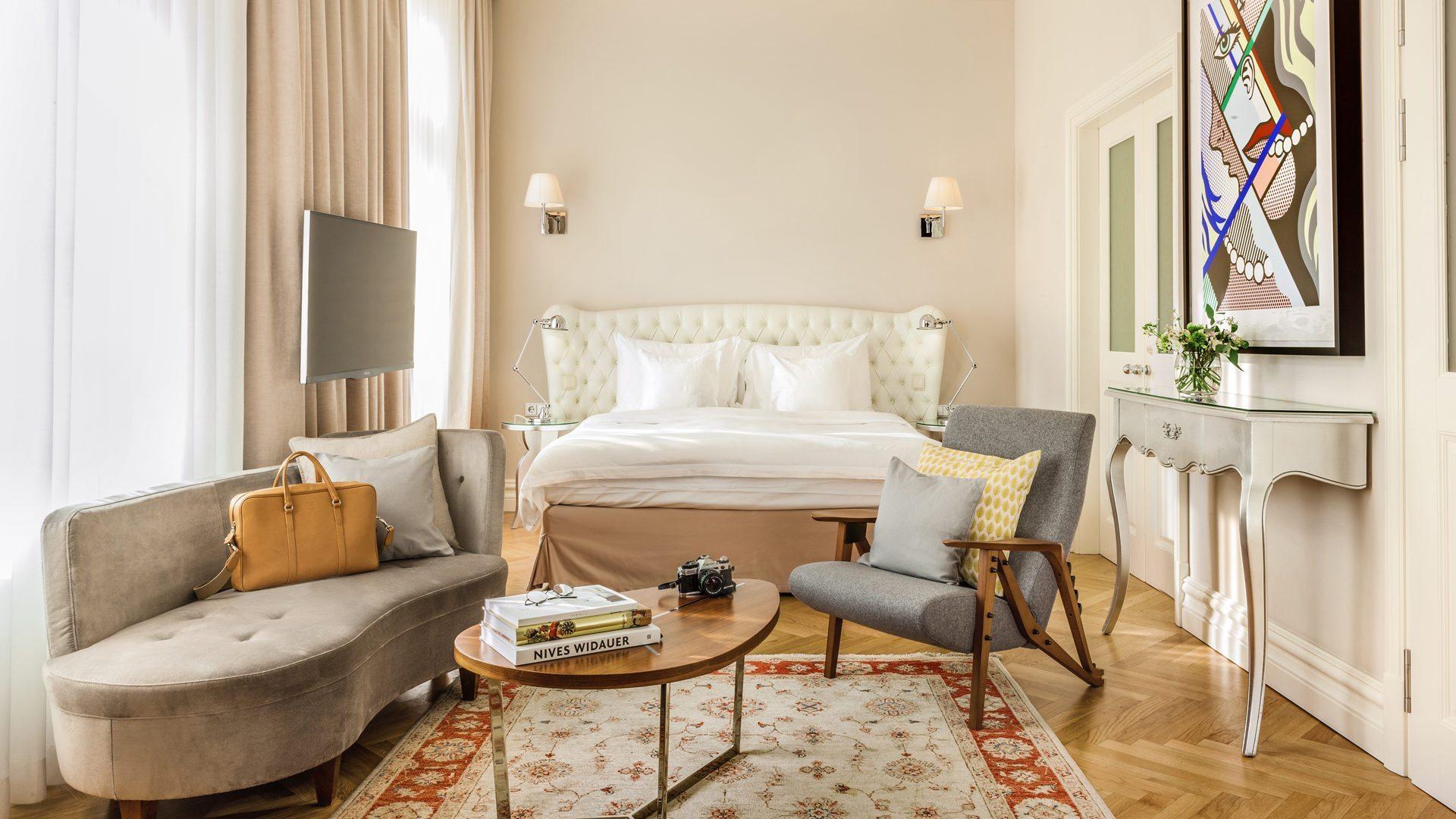 5 Sterne Hotel Wien Hotel Sans Souci Wien – Junior Suite
