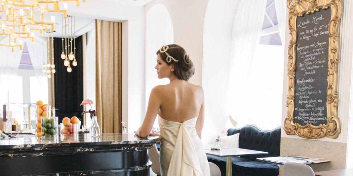 Hochzeit Wien Braut Sans Souci