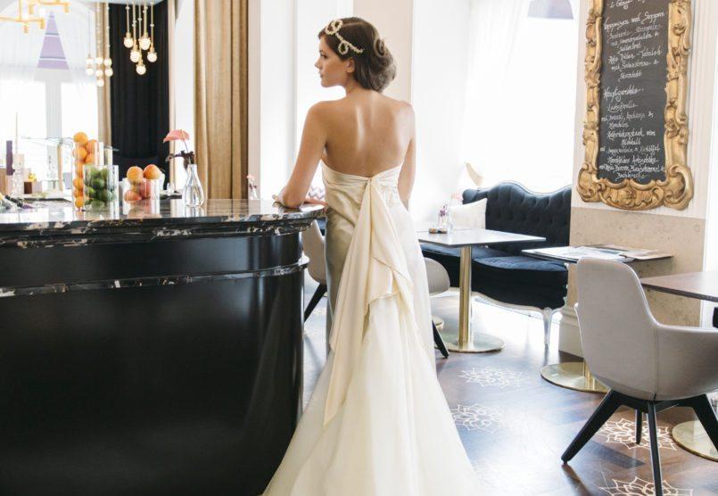 Braut Hochzeit Wien - Hotel Sans Souci
