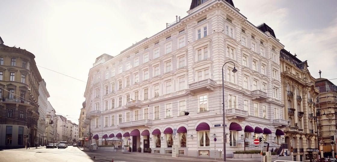 Boutique Hotel Vienna -Impressionen Sans Souci Wien: Aussenansicht / (c) Gregor Titze