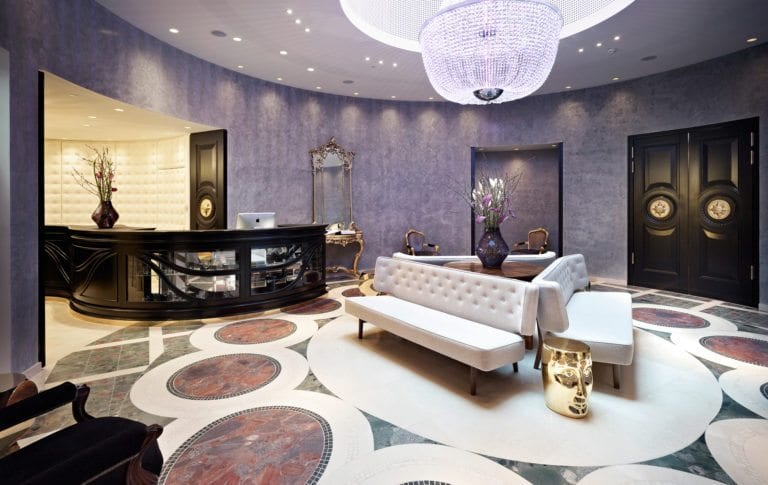 Boutique Hotel Vienna - Sans Souci Wien Lobby / (c) Gregor Titze