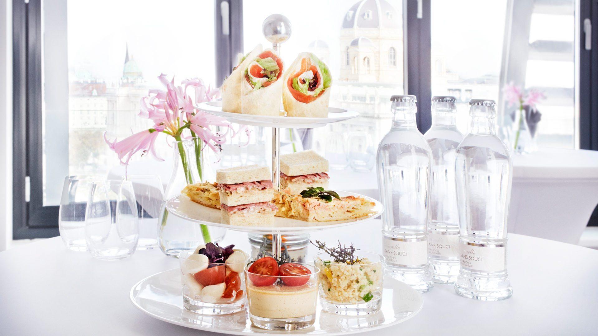 Business Lunch im Hotel Sans Souci Wien