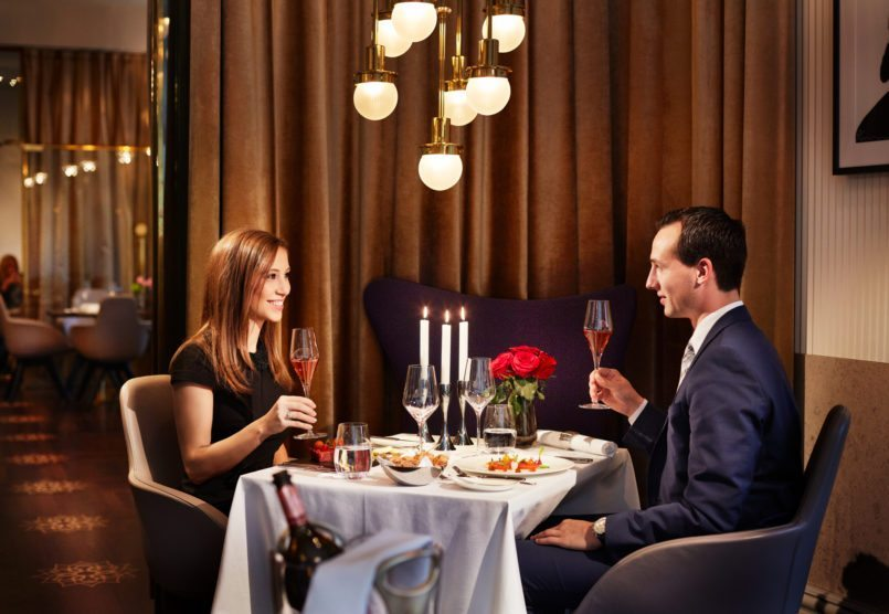 Valentinstag Candlelight Dinner Sans Souci Wien