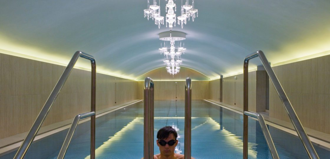 Hotel Pool at Sans Souci Vienna