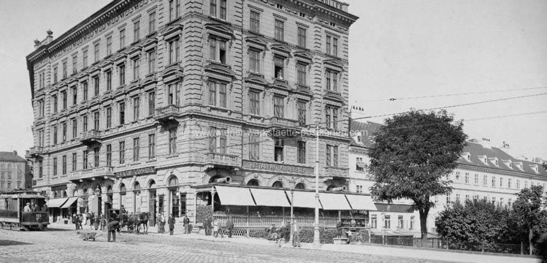 Hotel Sans Souci Wien: Historie