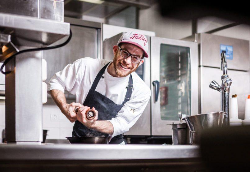 Jeremy Ilian - Chef de Cuisine restaurant Veranda - Sans Souci Vienna