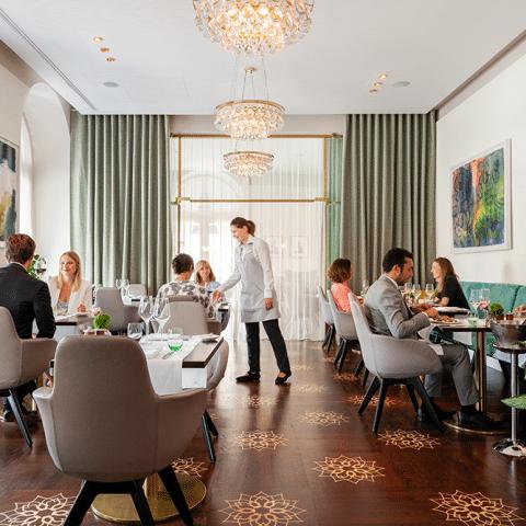 Kulinarik genießen im Restaurant Veranda – Hotel Sans Souci Wien