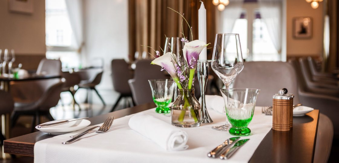 culinary delights at restaurant Veranda - Sans Souci Vienna