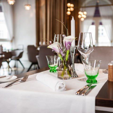 culinary delights at restaurant Veranda - Sans Souci Vienna