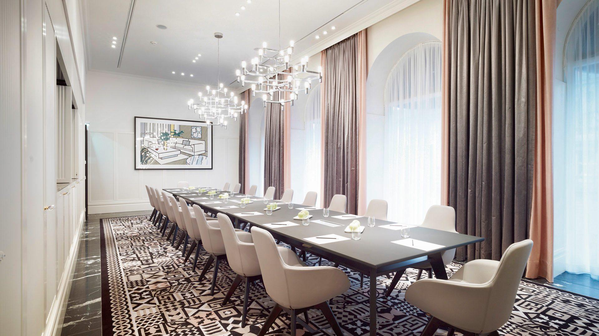 Le Salon – Business at Hotel Sans Souci Vienna