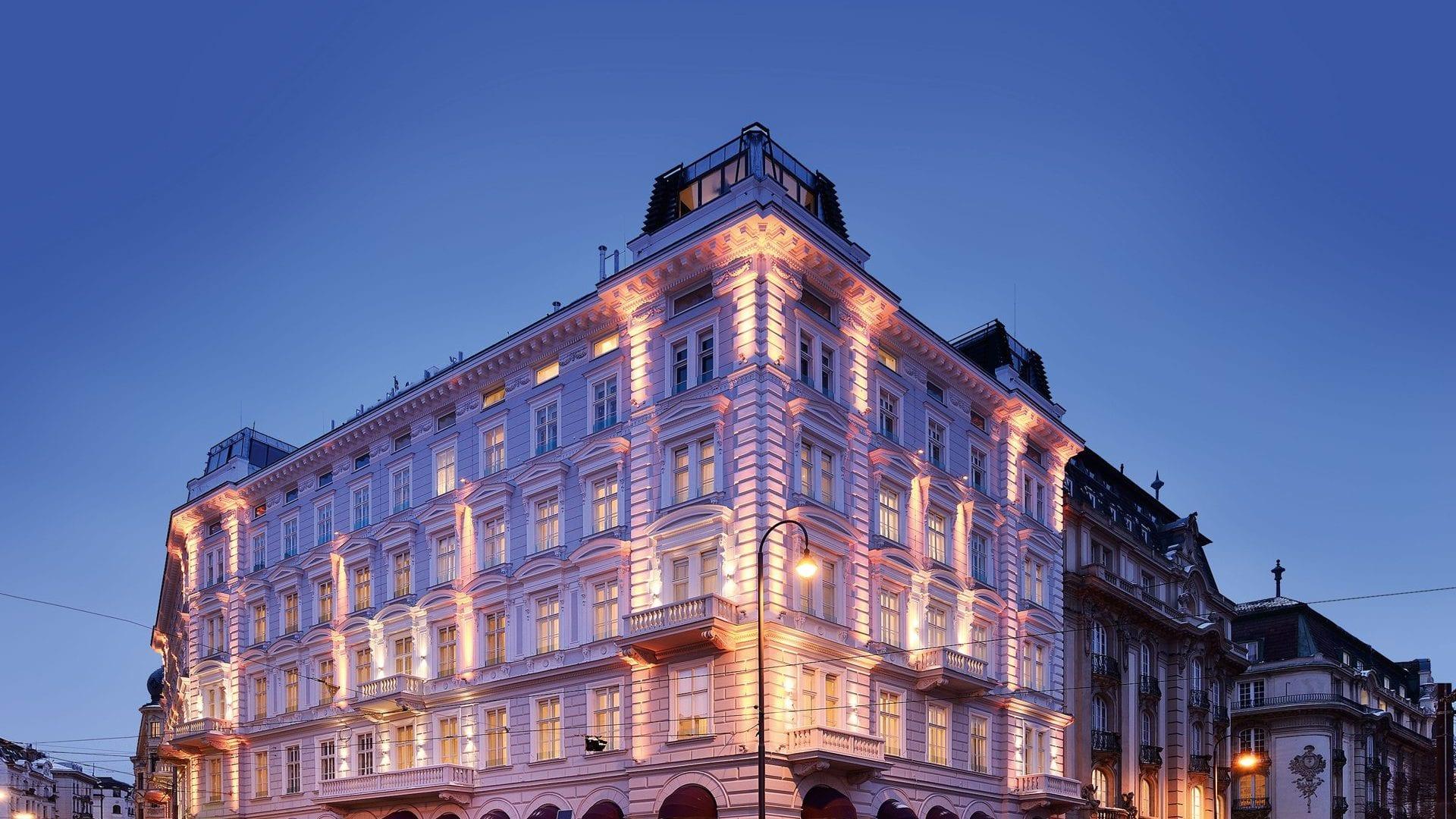 Luxushotel Wien-Aussenansicht Hotel Sans Souci Wien