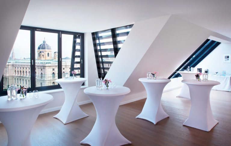 Rooftop Apartment – Meetings & Events im Hotel Sans Souci Wien