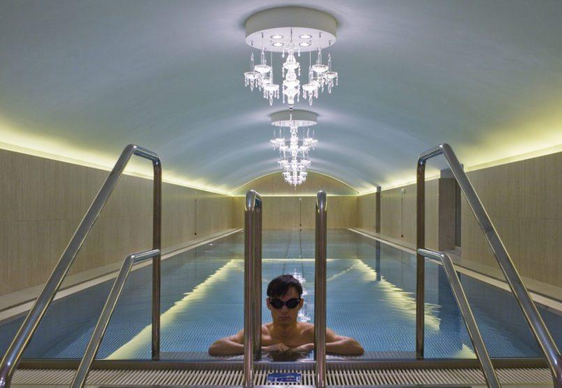 Hotel Pool im Sans Souci Wien