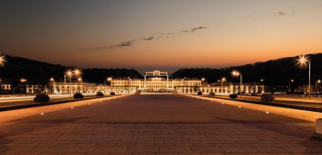 Sans Socui wien Konzert © WienTourismus Christian Stemper Schloss Schönbrunn mit Gloriette