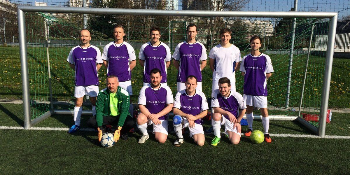 Fußballtournier, Sans Souci Wien, Team, Karriere