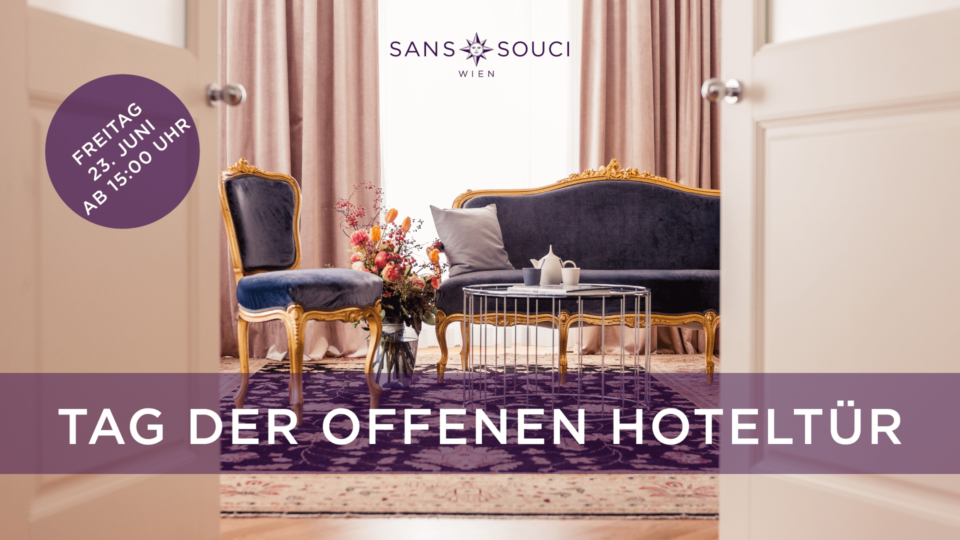 Tag der offenen Hoteltür Sans Souci Wien