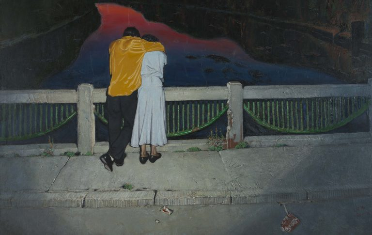 © Wang Xingwei Wang Xingwei, My Beautiful Life, 1993–1995 Öl auf Leinwand Courtesy Sigg Collection
