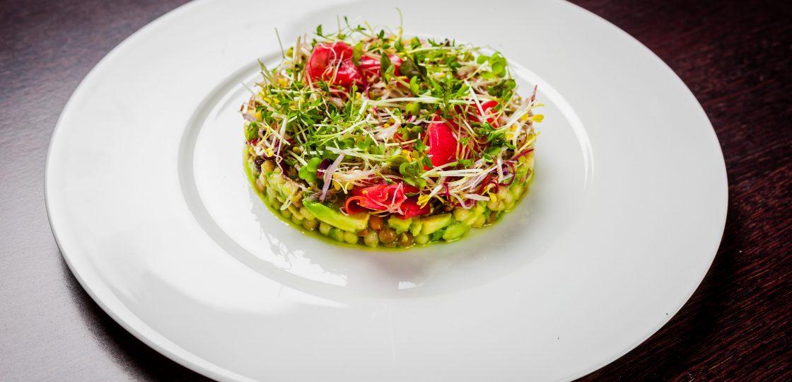 Baby-Sprossen-Salat Stefan Gergely Sans Souci Wien Veranda