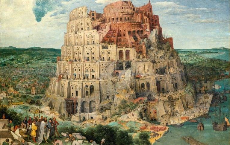 Turmbau zu Babel, 1563, Pieter Bruegel d.Ä., © KHM-Museumsverband