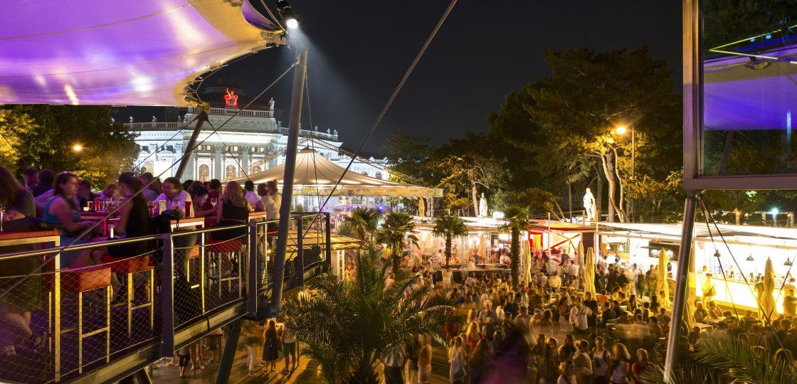 Hotel Sans Souci Wien Musikfilm Festival am Rathausplatz