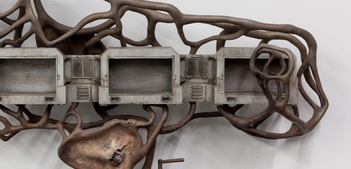 Hotel Sans Souci Wien Skulptur One Million Years of Feeling Nothing 2015