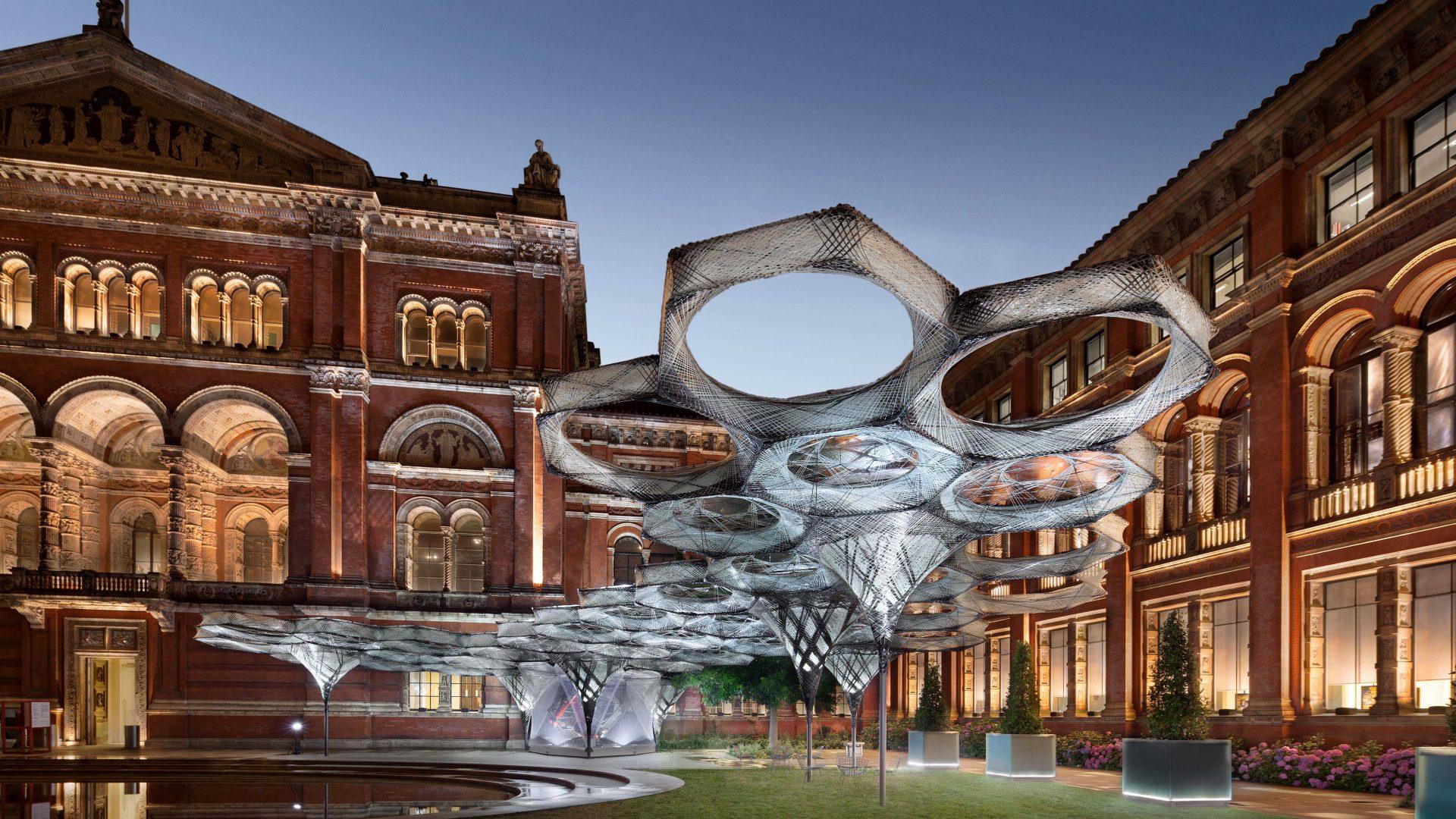 Hotel Sans Souci Wien_RobotElytra Filament Pavilion