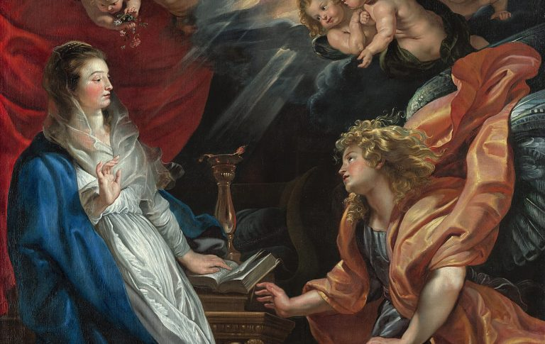 Kunsthotel Sans Souci Wien Verkündigung Mariae_Peter Paul Rubens