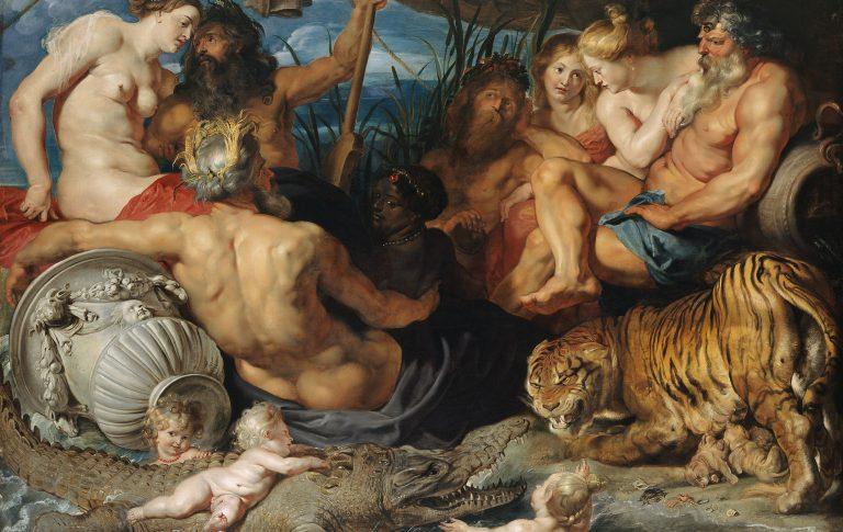 Peter Paul Rubens (1577 Siegen - 1640 Antwerpen) Die vier Flüsse des Paradieses © KHM-Museum Association