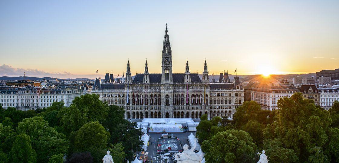 Rathaus Wien Sans Souci