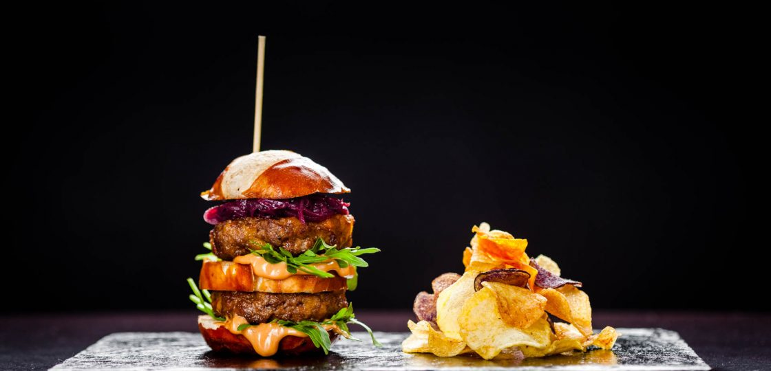 Sans Souci Burger Restaurant Veranda in Wien