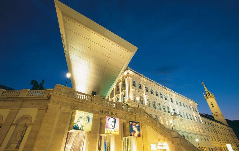 Albertina Kunstsalon Kunst in Wien Hotel Sans Souci