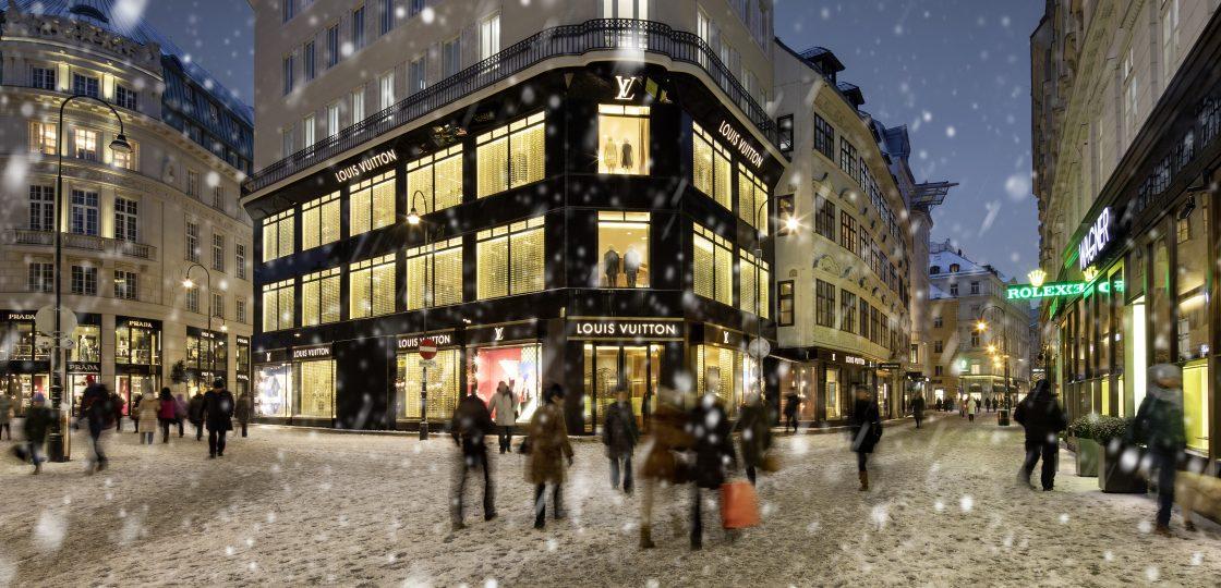 Sans Souci Wien hotel Winter Wien Graben shopping