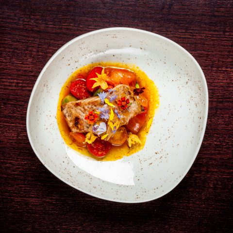 Fisch Restaurant Veranda Hotel Sans Souci Wien
