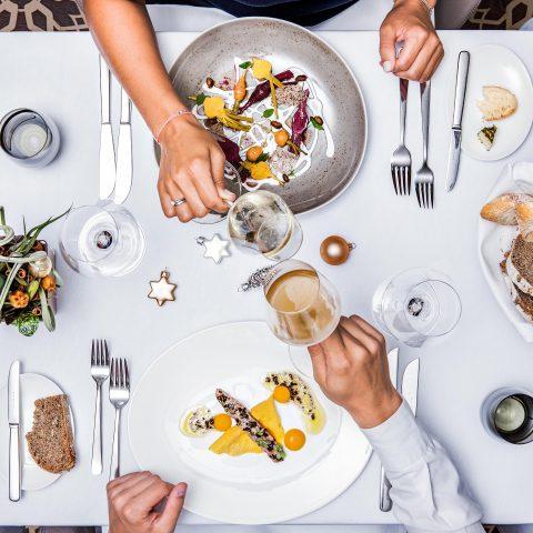Tisch Restaurant Weihnachten Sans Souci Wien