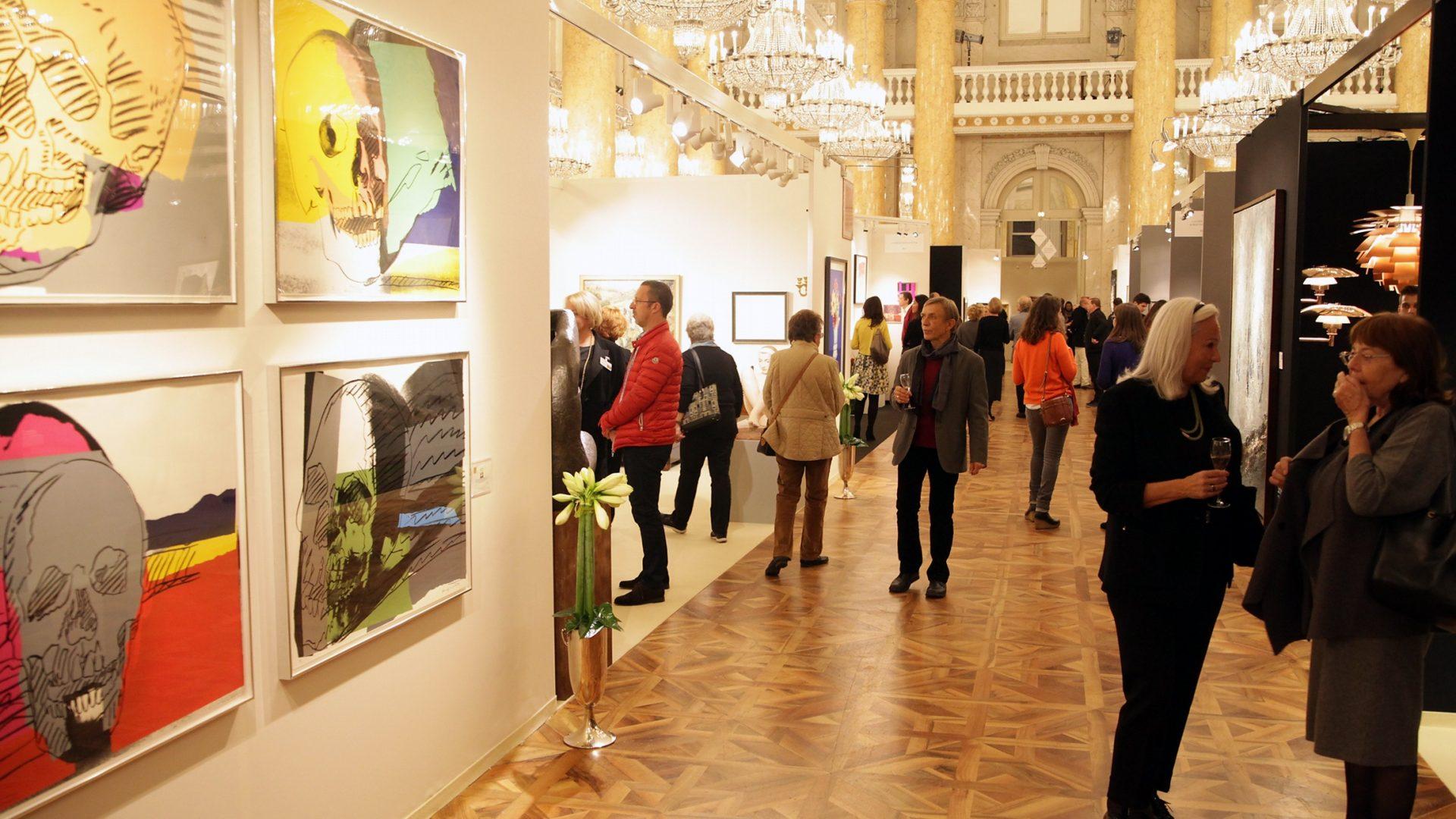 Art & Antique Kunst Event Messe Wien Sans Souci Wien