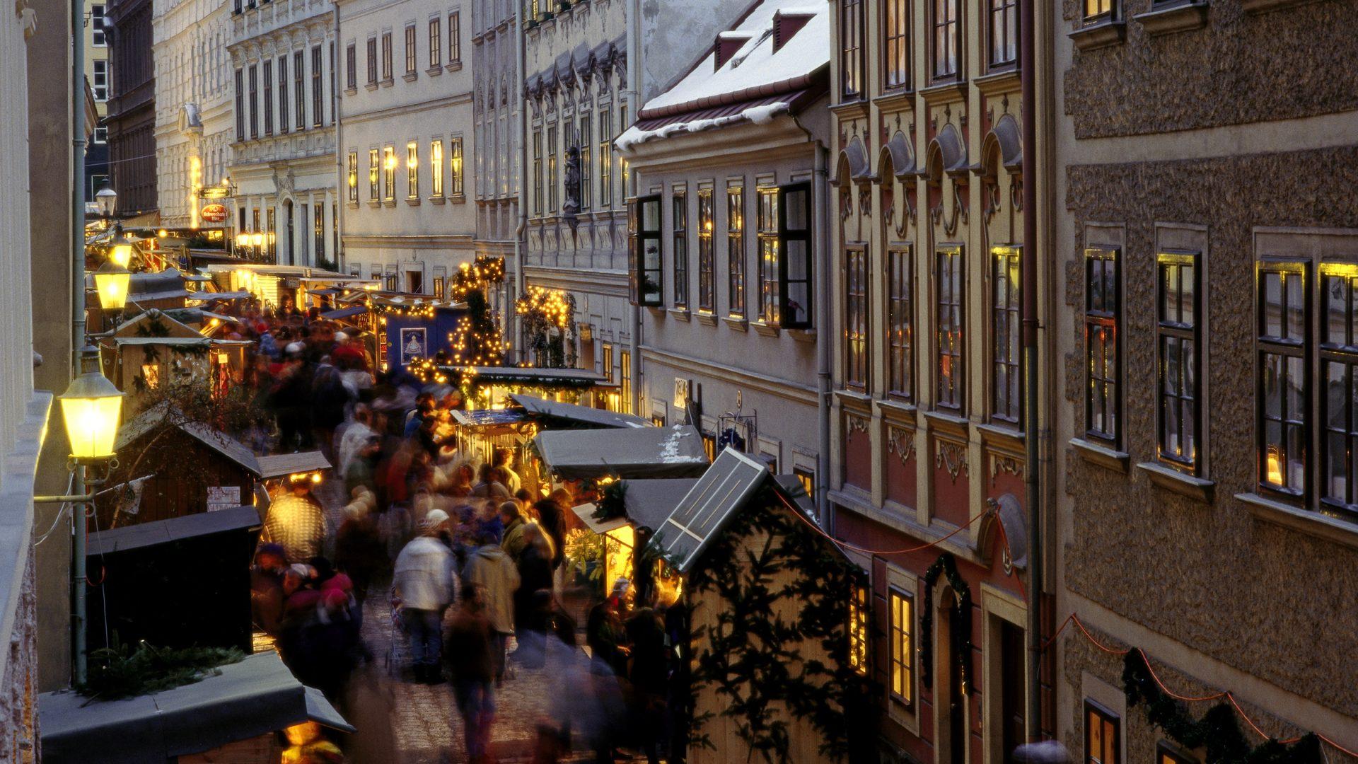 Sans Souci Wien Christkindmarkt weihnachtsmarkt Spitelberg
