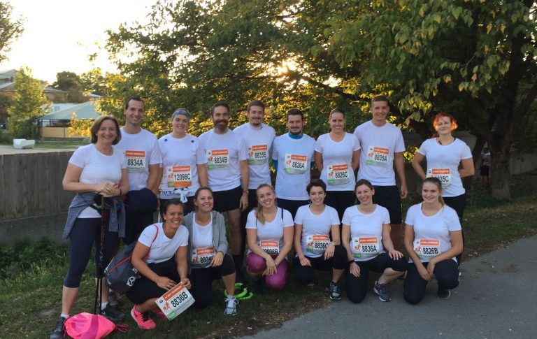 Sans Souci Wien Business Run Team 2017