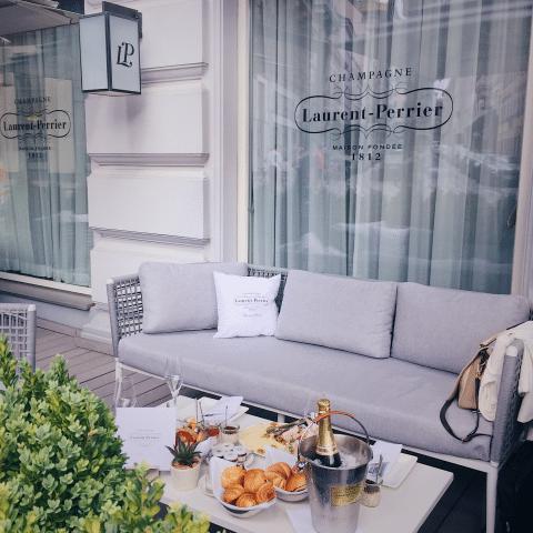 Luxushotel Wien-Laurent Perrier Sommer Lounge Sans Souci Wien-c-Kessler