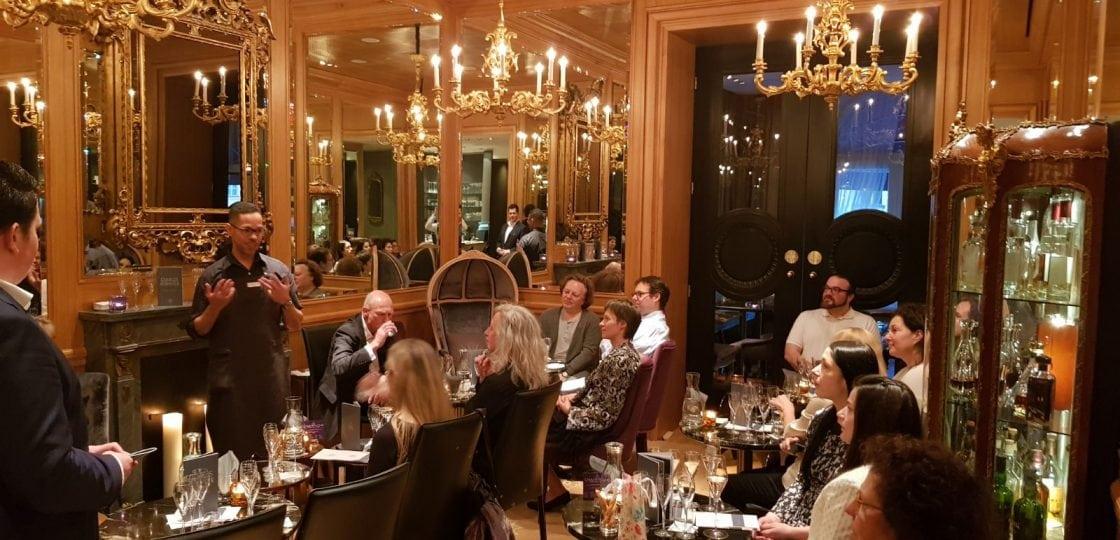 Champagne Tasting Heidsieck Sans Souci Wien LE BAR II