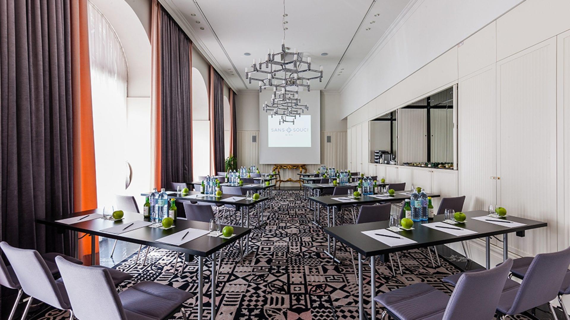 Veranstaltungsraum Le Salon in Wien | Kunsthotel Sans Souci