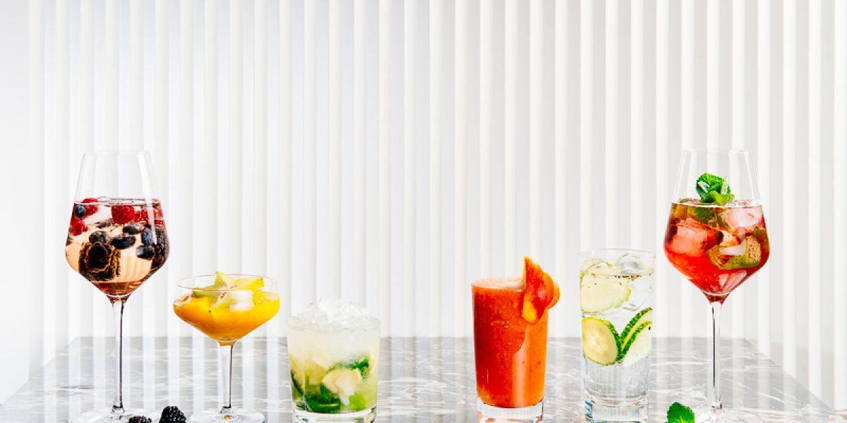 Summer Cocktails Sujet; Menu; Drinks