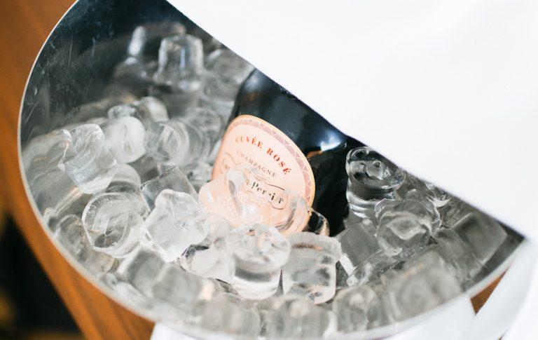 Champagner Flasche am Zimmer_Wien Hotel Zentrum