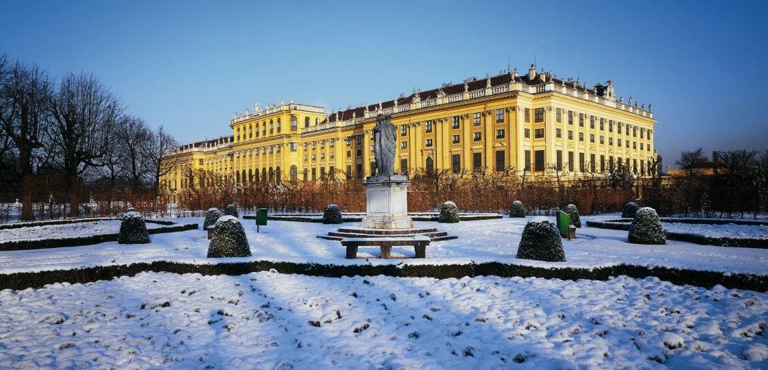 Wien im Winter_Schönbrunn