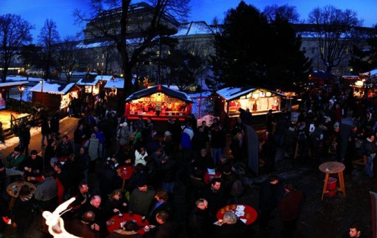Weihnachtsdorf Altes AKH_Winter in Wien_Hotel Wien