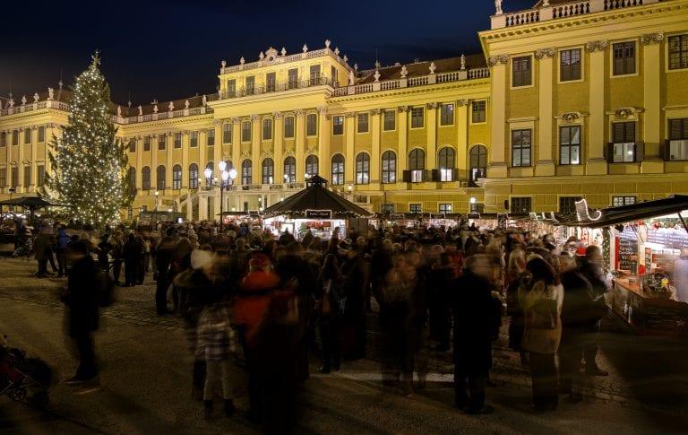 Winter in Wien_Weihnachtsmarkt Schloss Schönbrunn_Hotel Wien